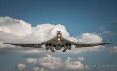 Strategic Bomber Tu 160 Up In the Sky