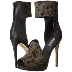 MIA MLE - Kita (Camo Pony) High Heels ($113) ❤ liked on