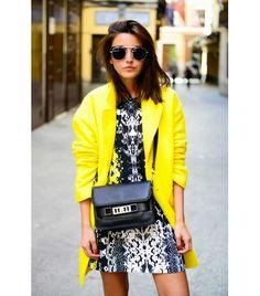 @Who What Wear - Alexandra Pereira of Lovely Pepa  On Pereira:Styligion dress and sunglasses; Zara shoes.