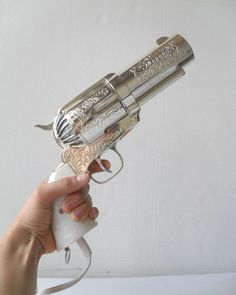 .357 Magnum gun hair dryer. seriously this is the coolest thing ever lmao!