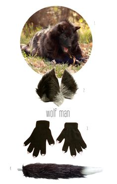 diy wolf man costume - Wolf Halloween