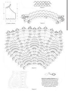 crochelinhasagulhas: Crochê na Revista Lanas Primavera 2015