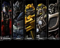 Transformers Autobots | Transformers: Autobots en formación | Fondos de escritorio gratis