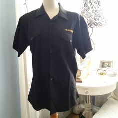 Check out this item in my Etsy shop https://www.etsy.com/listing/273020186/in-the-navy-deep-rich-navy-uniform-shirt