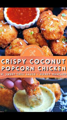 Easy Chicken Recipes, Crockpot Recipes, Cooking Recipes, Turkey Recipes, Chicken Tenderloin Recipes, Homemade Honey Mustard, Thai Sweet Chili Sauce, Chicken Bites, Fries In The Oven