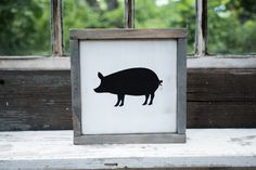 I am SO excited about our new Farmhouse silhouette series of signs! They look so…