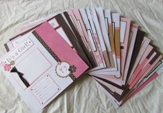 20 BABY GIRL Scrapbook Pages for 12x12 FiRsT YeAr by JourneysOfJoy, $145.00