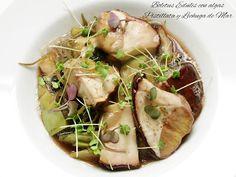 Fentdetutto: Boletus Edulis con algas Pistillata y lechuga de mar
