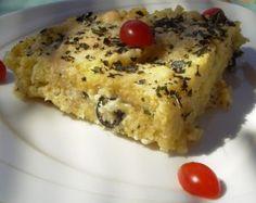 Gratin de polenta à la grecque - Plats cuisinés