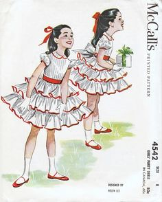 McCall's 4542 by Helen Lee ©  1958.