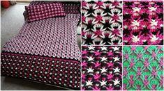 [ Free Crochet Pattern] Polish Star Stitch Blanket + Video