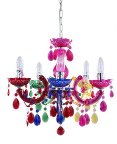 Buy Tesco Marie Therese Chandelier Multi-Colour from our Multi-Arm ...