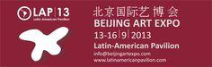 Exposicion Internacional:   Art expor Beijing 2013