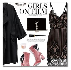 """""""Party Dresses"""" by defivirda ❤ liked on Polyvore featuring Robert Clergerie, Yves Saint Laurent, Puma and Christian Louboutin"""
