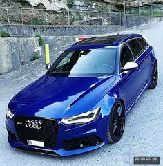 Audi RS6. Getting some ideas.