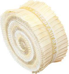 Kaufman Kona Cotton Sandcastle Roll Up 2 Fabric Strips Jelly Roll RU 191 40 Ruffle Shower Curtains, Pink Chalk, Palette, Missouri Star Quilt, Robert Kaufman, Fabric Strips, Kona Cotton, Fabulous Fabrics, Arts And Crafts Supplies