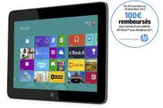 Tablette tactile Hp OMNI 10 5600EF NOIRE prix promo Darty 399.00 € TTC