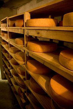 Cheese Cave, Murray's Cheese, Bleecker St., NYC. IMG_2020LR edit by StevenC_in_NYC, via Flickr