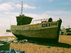 Hastings is known for its fishing fleet - the Stade is a shingle beach home to Europe's largest fleet of beach launched boats. They are hauled out of the water onto the beach after each trip and are as such required to be less than 12m in length.    #analog #filmisnotdead #shootfilm #film#35mmphotography #filmphotography #filmcamera #filmphoto #filmstagram #filmforever #filmcommunity #35mmers #35mmfilm #lovefilm #analogphotography #analogvibes #analogfilm #olympus  #hastings #fishing…