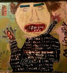 untitled work (I Forgive You--?) by Misty Lindsey, American (mediacache)