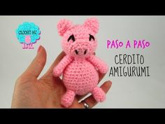 Tutorial Cerdito amigurumi - YouTube