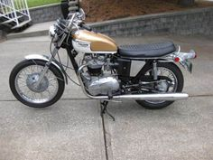 1972 Triumph Bonneville. For Brian. If only he could have his dad's