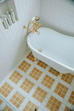 Bathroom Tile: Ideas to Consider When Tiling Your… | Fireclay Tile White Bathroom Tiles, Bathroom Spa, Bathroom Floor Tiles, Bathroom Ideas, Bath Ideas, Shower Niche, Shower Floor, Fireclay Tile, Tub Surround