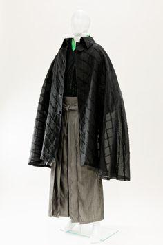 「和次元 滴や」透かしマント:蜉蝣 Men's Kimono