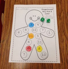 The Gingerbread Man (and Girl) Unit!! TONS of math, literacy, and writing…