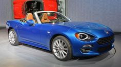 2017 Fiat 124 Spider Convertible arrive this summer!