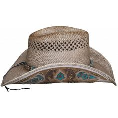 Bullhide From The Heart Panama Straw Vented Hat  2836  4f2d98d1c417