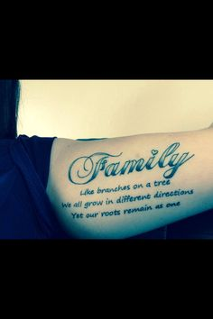 Family tattoo idea