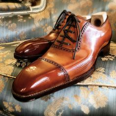 Saint Crispin's Mod Crust calf on the Screwdriver last. Suit Shoes, Dress Shoes, Formal Shoes, Casual Shoes, Gents Shoes, Gentleman Shoes, Fashion Shoes, Mens Fashion, Mens Designer Shoes