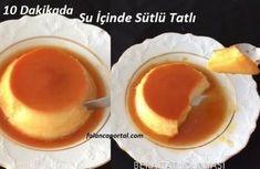 10 Dakikada Su İçinde Sütlü Tatlı Turkish Recipes, Homemade Beauty Products, Foot Tattoos, Pudding, Eggs, Breakfast, Desserts, Food, Wordpress Theme