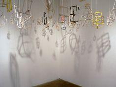 Jeremy Burleson - Lantern & Syringe Installation NIAD Art Center
