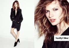 Bette Franke Keeps it Casual in See by Chloes Fall 2012 Campaign by Gregory Harris