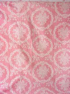 pink fabric..