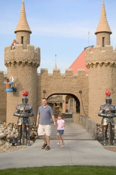 Storybook Land in Rapid City, South Dakota. Photo courtesy South Dakota Tourism