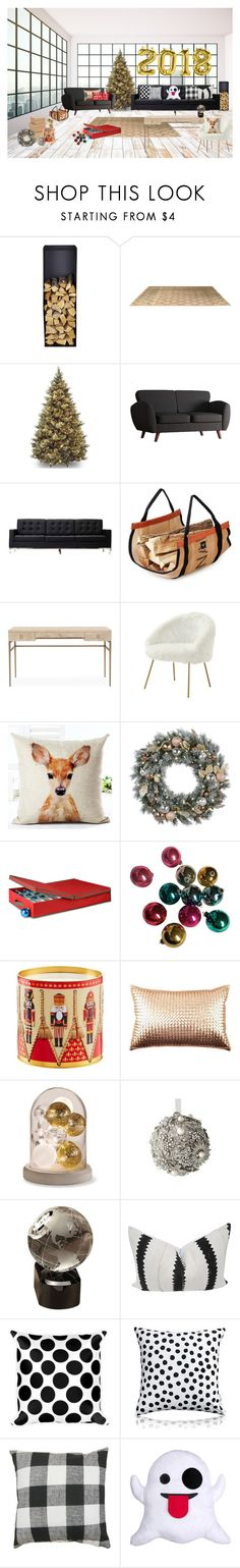 """Decoration Switch-Up"" by cherieaustin ❤ liked on Polyvore featuring interior, interiors, interior design, home, home decor, interior decorating, Inspire Q, 251 First, Mitchell Gold + Bob Williams and GE"