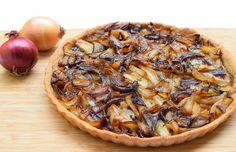 onion tart - easy, quick and cheap delicatesy
