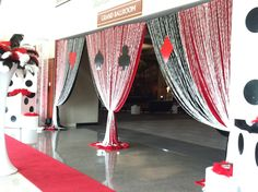 Casino night | Prom Party decor | ©Sterling Events Group