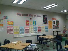 secondary math classroom. High school math classroom decor. (Other ...