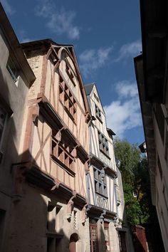 Quartier Decré, Nantes (Loire-Atlantique, Pays-de-la-Loire, FRANCE)