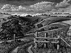 Howard Phipps - woodcut