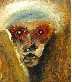 Le regard rouge - Arnold Schönberg  1910