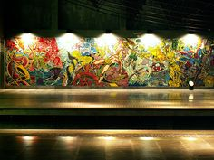 Lisboa - Metro station Oriente