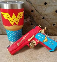 Wonder Woman Pistol