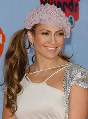 Jennifer Lopez Crocheted Beret