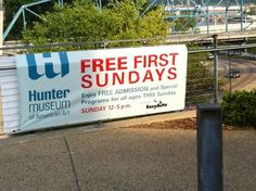 It's free to get in to the Hunter Museum of American Art the first Sunday of every month=) Chattanooga, TN, Photo by Harvey Weiss