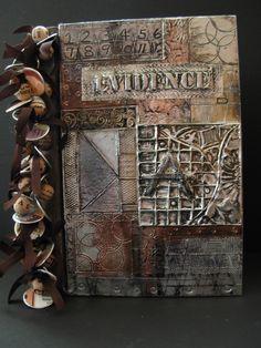 www.cakecoachonline.com - sharing....Altered Book   Gaye Medbury